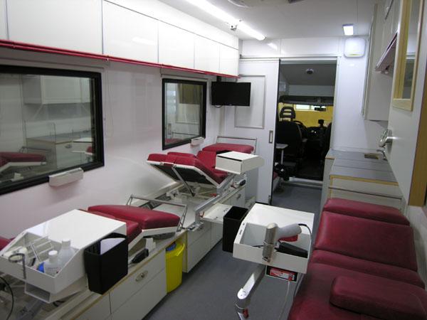 Mobil blodtappning